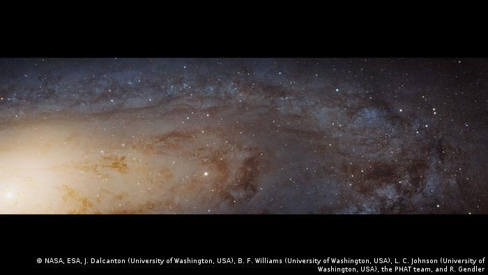 Bildergalerie Kepler Andromeda Galaxie