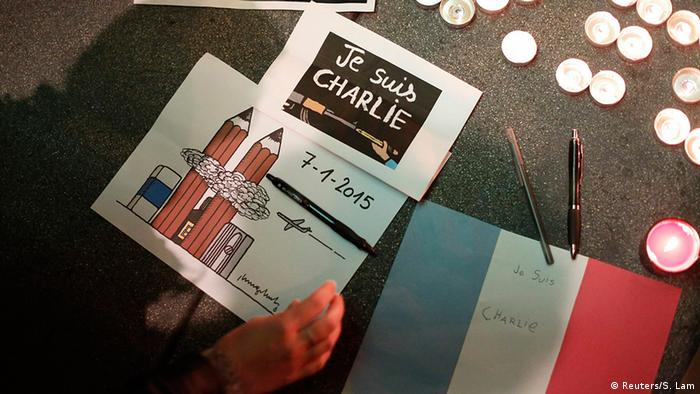 Frankreich Anschlag auf Charlie Hebdo Karikatur (Reuters/S. Lam)