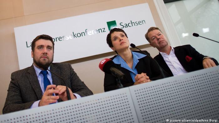 AfD Sachsen Vorsitzende Frauke Petry 8.1.2015