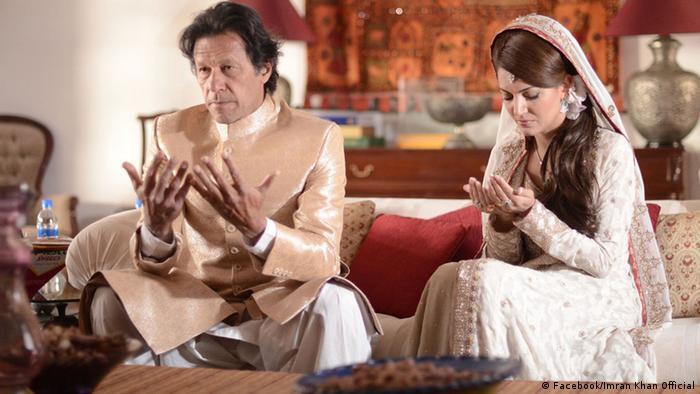 Pakistan Hochzeit Imran Khan Reham Khan 8.1.2015 (Facebook/Imran Khan Official)