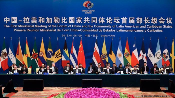 Treffen Chinas und der CELAC-Staaten in Peking (Foto: REUTERS/Rolex Dela Pena/Pool)