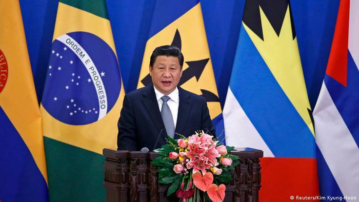 Treffen Chinas und der CELAC-Staaten in Peking 08.01.2015 (Reuters/Kim Kyung-Hoon)