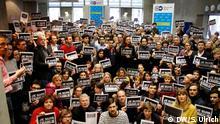 Solidarität der DW Mitarbeiter - Je suis Charlie