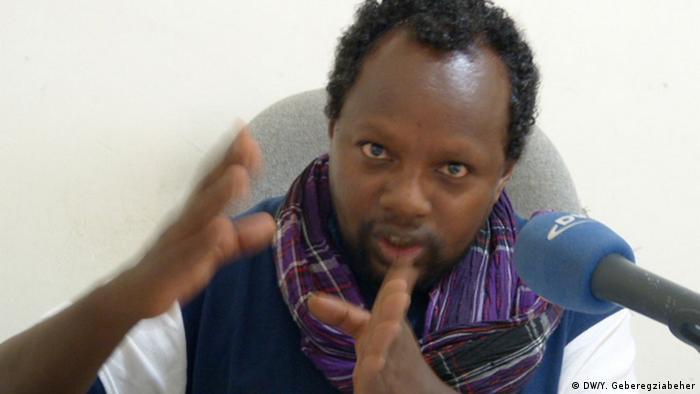 Journalist Temesgen Desalegn