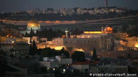 Вид на Иерусалим сверху