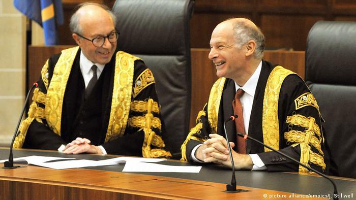 Gerichtsszene in London
