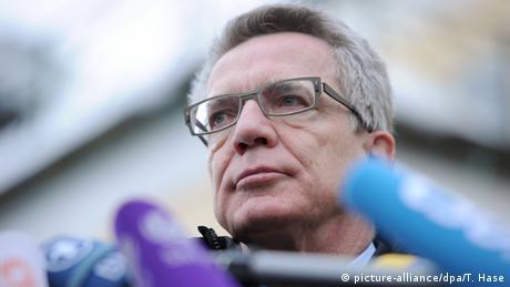 Bundesinnenminister Thomas de Maizière Winterklausur CSU-Landesgruppe