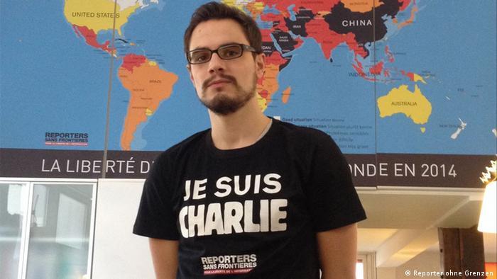 Antoine Héry - Foto: Reporter ohne Grenzen