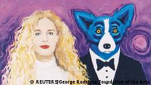 Gemälde Wendy and Me von George Rodrigue (REUTERS/George Rodrigue Foundation of the Arts)
