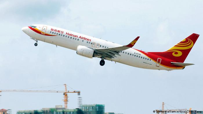 Hainan Airlines (picture-alliance/dpa/ Chen Kang)
