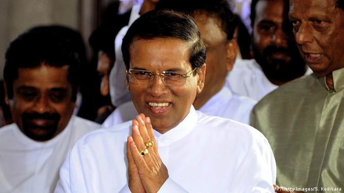 Sri Lanka Präsidentschaftswahlen Maithripala Sirisena 9.1.2015