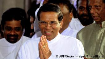 Sri Lankan President Sirisena