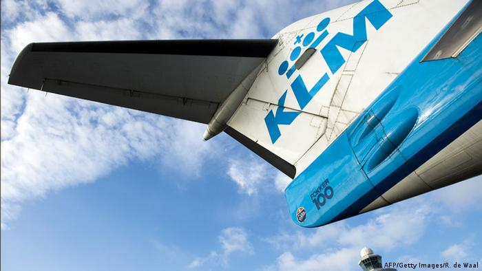 KLM airplane (AFP/Getty Images/R. de Waal)