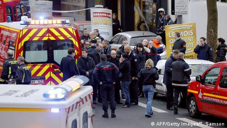 Attentat auf Polizeistation in Montrouge. (Foto: THOMAS SAMSON/AFP/Getty Images)