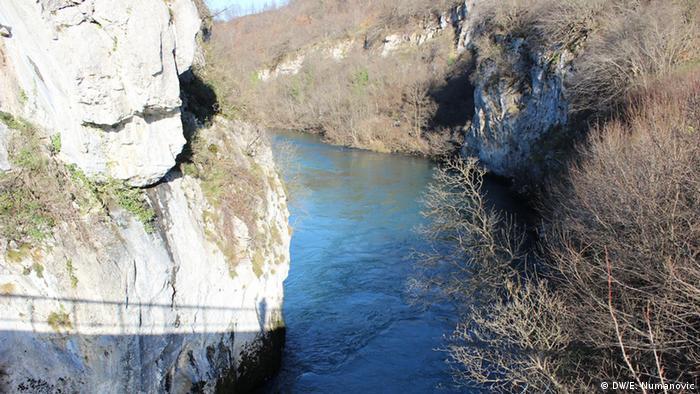 Pogled na rijeku Unu