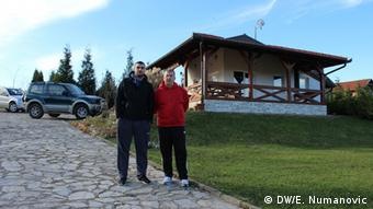 Mersad Ćoralic Kiro (desno) sa skiperom Edinom Redžićem