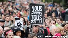 Frankreich Gedemken der Opfer in Lille 10.01.2015