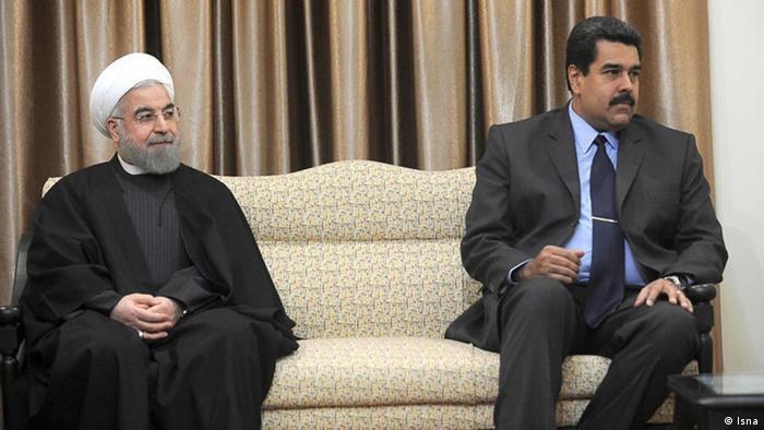 Teheran Nicolas Maduro, Hassan Rohani, 10.01.2015