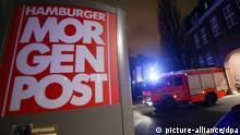 Hamburger Morgenpost / Anschlag