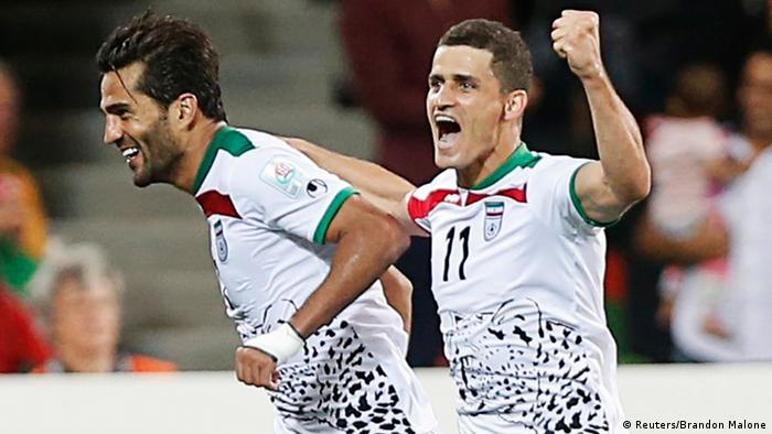 Fußballspiel Asienmeisterschaft Iran - Bahrain (in Australien) (Reuters/Brandon Malone)