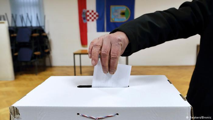 Stichwahl um das Präsidentenamt in Kroatien