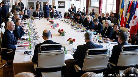 Innenministerkonferenz in Paris (Foto: dpa)