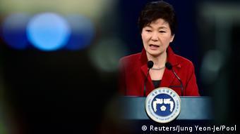 Park Geun-Hye Südkorea Präsidentin Neujahrskonferenz Seoul
