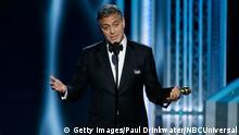 Golden Globes George Clooney Rede