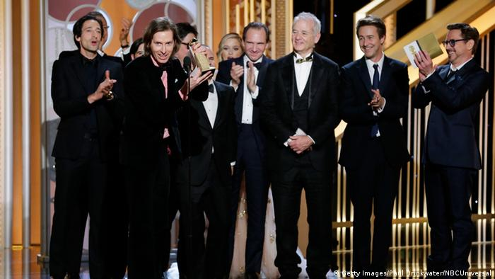Golden Globes Crew The Grand Budapest Hotel