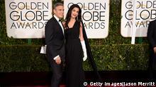 Golden Globes George und Amal Clooney
