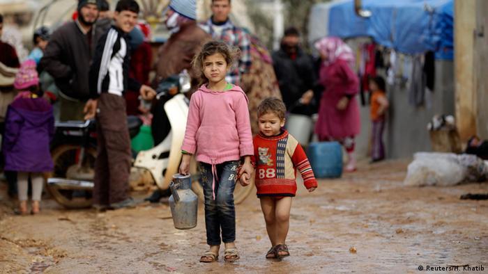 Bildergalerie syrische Flüchtlinge Wintereinbruch Januar 2015