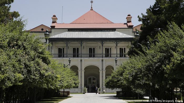 Afghanistan Präsidentenpalast Archivbild Juli 2014