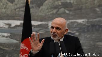 Ashraf Ghani Archivbild November 2014