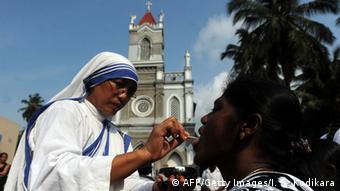 Christen in Colombo Sri Lanka