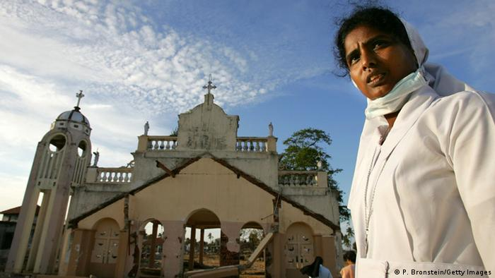 Christen in Colombo Sri Lanka (P. Bronstein/Getty Images)