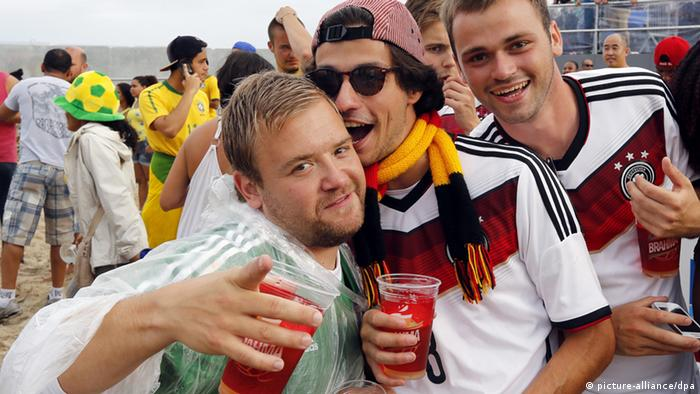 Image result for drinking beer at world cup