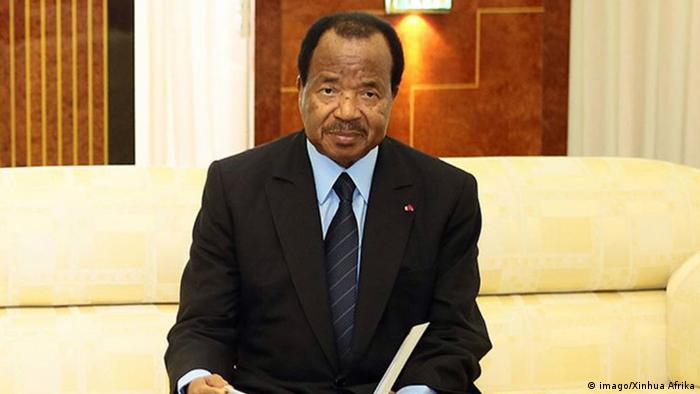 Cameroon's President Paul Biya (imago/Xinhua Afrika)