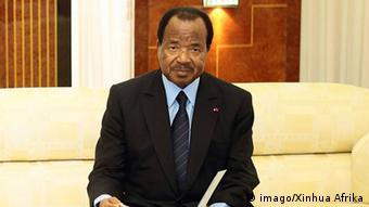 Kamerun Präsident Paul Biya (imago/Xinhua Afrika)