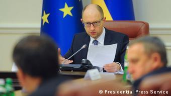 Арсений Яценюк требует от России уступок