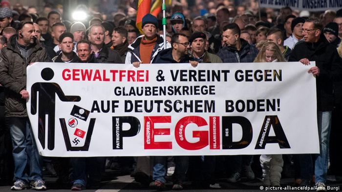 Movimento PEGIDA na Alemanha é válvula de escape