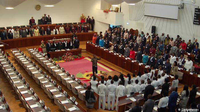 Parlamento em Maputo