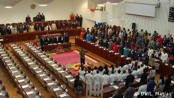 Mosambik neues Parlament