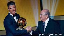 FIFA Ballon d'Or Gala Cristiano Ronaldo Weltfußballer 2014 12.01.15