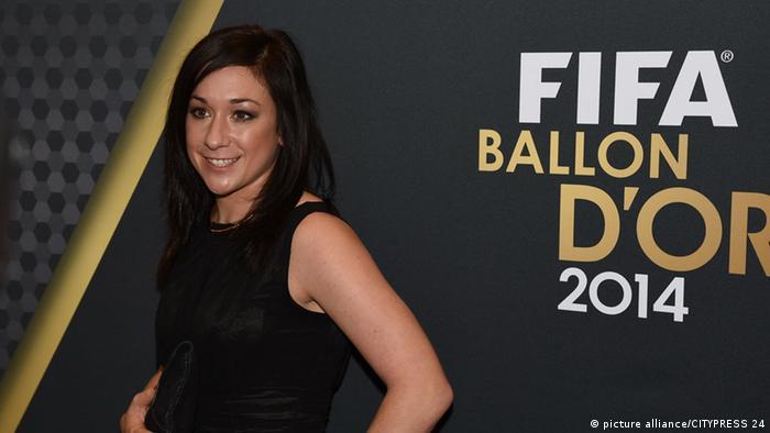 FIFA Ballon d'Or Gala Nadine Kessler Weltfußballerin 2014 12.01.15