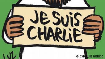 Charlie Hebdo / Karikatur / Ausschnitt