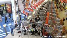 Weisrussischer Supermarkt , Januar 2015 Bild: DW-Korrespondent in Minsk Andrej Alechnowitsch