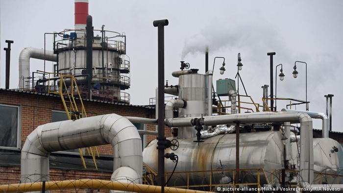 Russland Ölraffinerie in Moskau