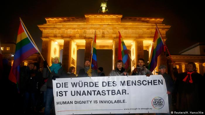 Berlin Anti-Pegida Demonstration 12.01.2015