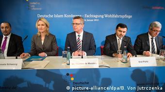 PK zur Islamkonferenz in Berlin
