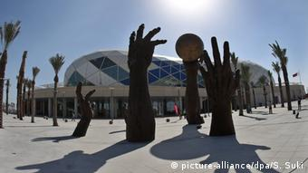 Lusail Multipurpose Hall in Doha (Foto: epa/SRDJAN SUKI)